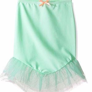 Hula Star Mermaid Scallops Swim Coverup Skirt